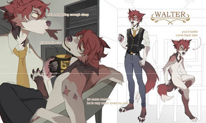 Walter  - adopt auction [CLOSED]