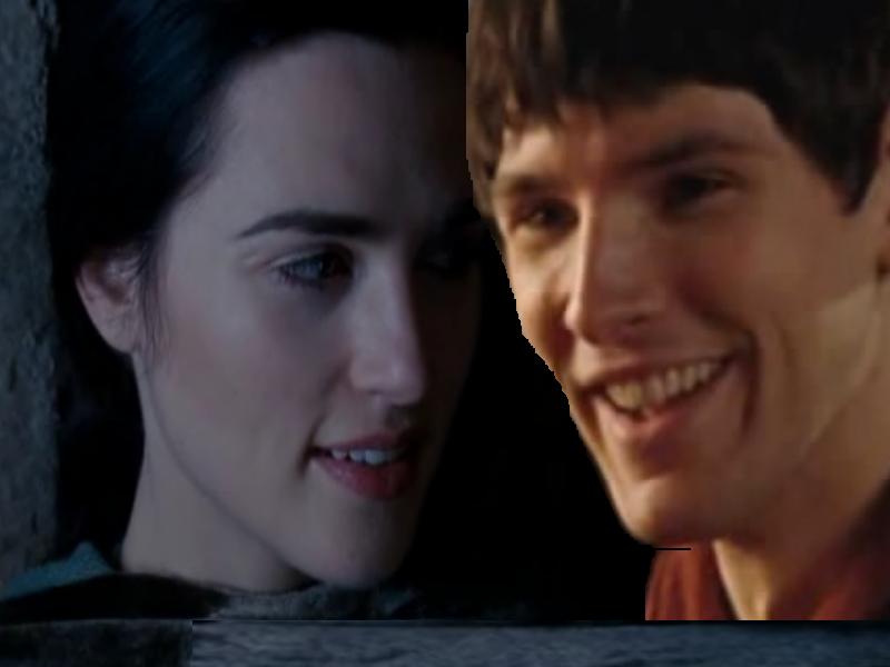 Merlin And Morgana Kiss merlin and morgana in ...