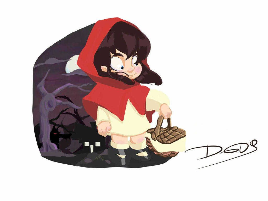 mini little red riding hood  by DELGADODYLAN95