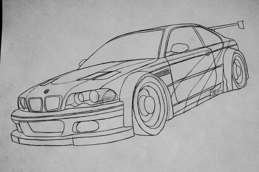 WIP : BMW M3 GTR NFS Most Wanted (2005) By Bloudy92 On