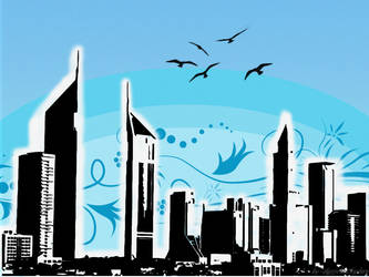 Skyline Wallpaper by HypnoticMystery