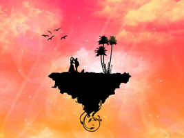 Paradise Island Wallpaper by HypnoticMystery
