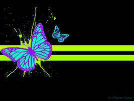 Butterfly Wallpaper by HypnoticMystery