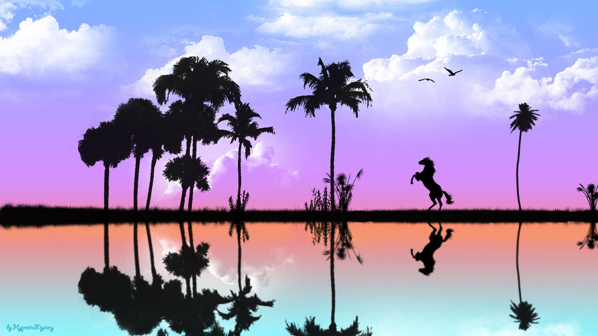 Reflection Wallpaper by HypnoticMystery