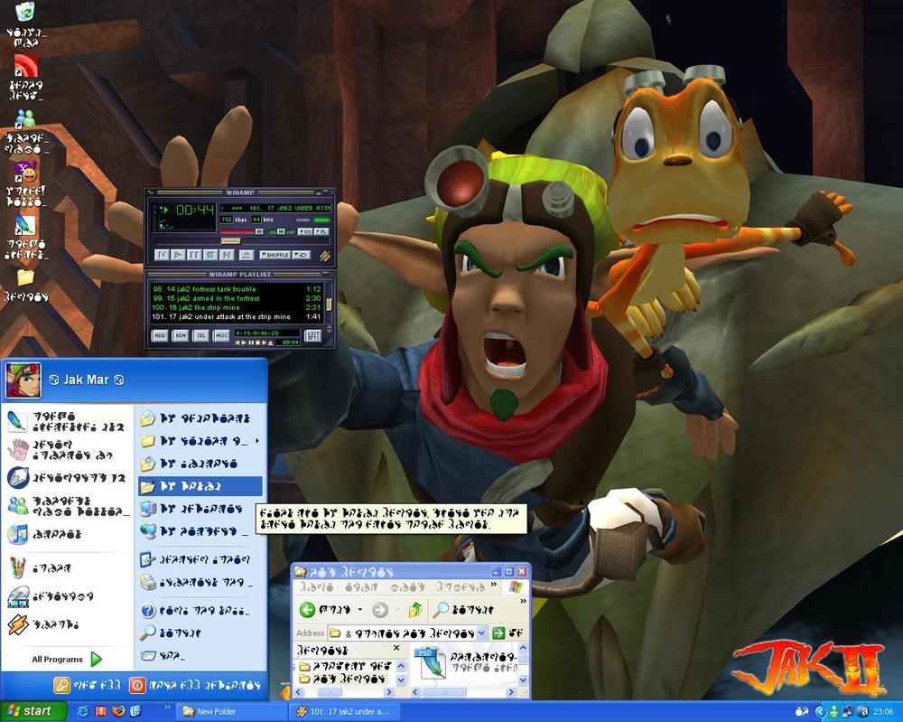 Jak Mar's Desktop by Jak-Mar