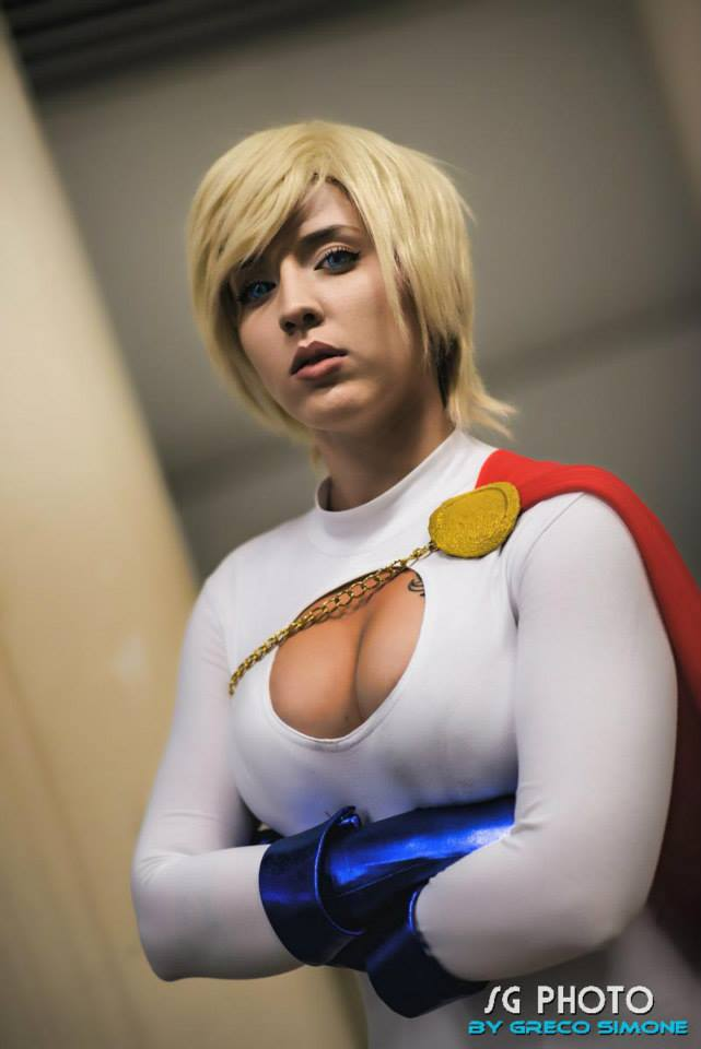 You can call me Power Girl, Wildcat. by Siryna