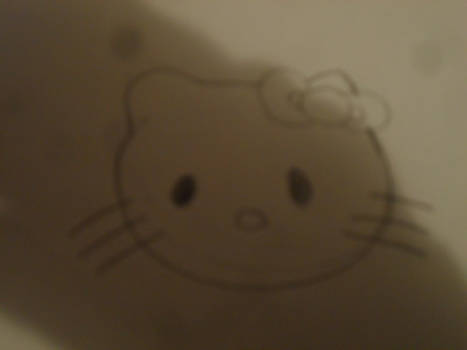 Sketch of Hello Kitty