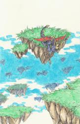 Spyro Doodle by Rinaii