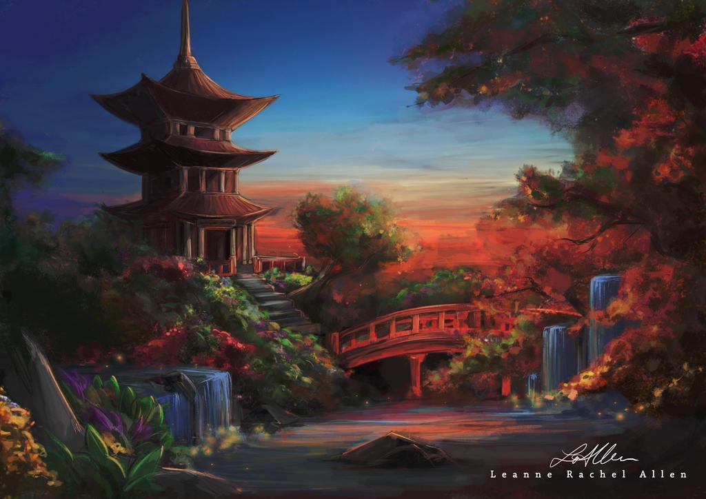 Japanese Garden by LeanneEast