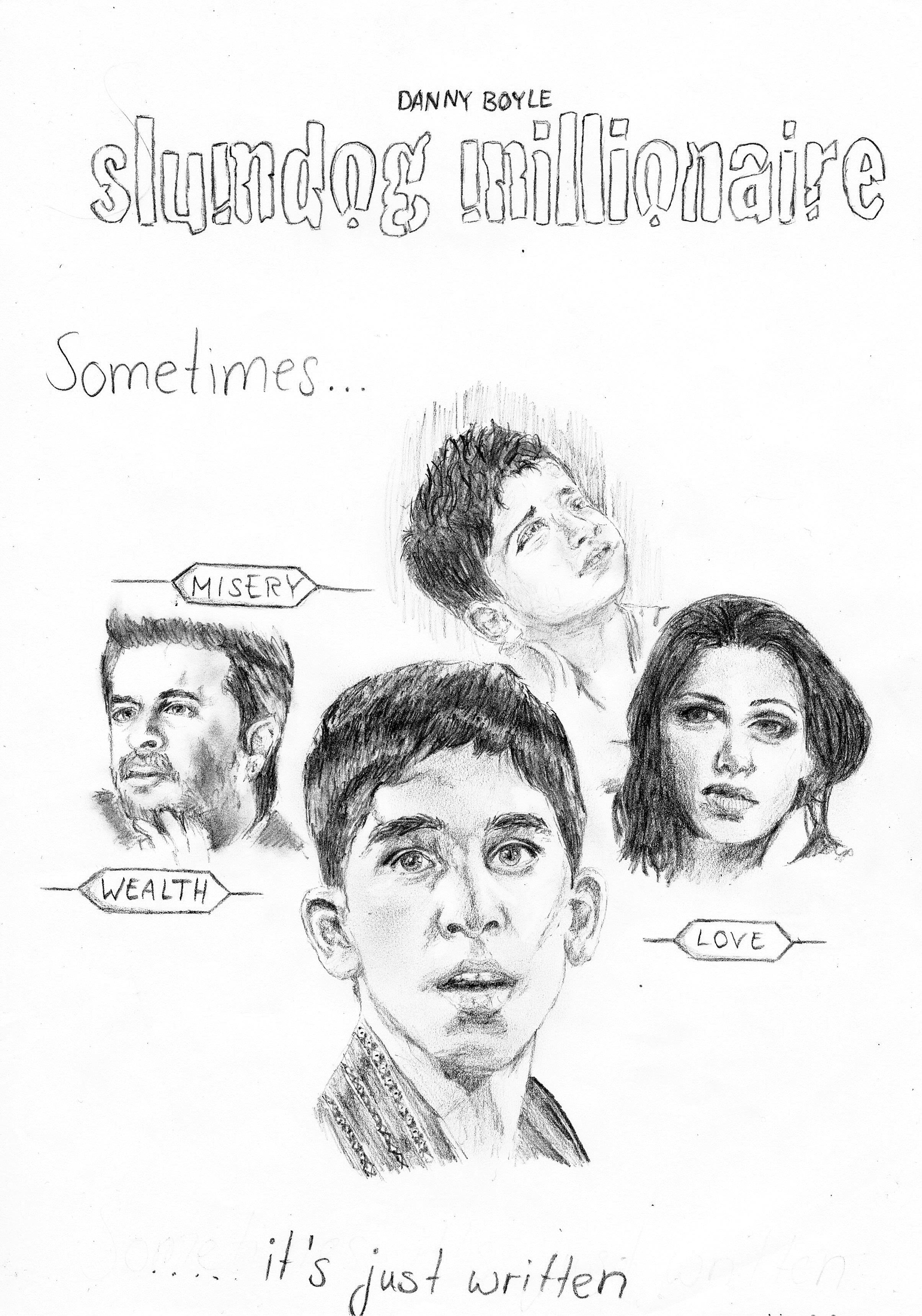 Slumdog Millionaire Movie Poster by c0reja on DeviantArt