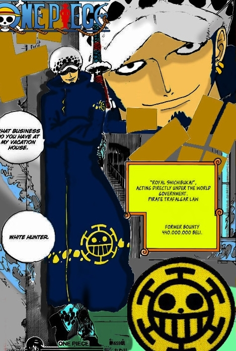 Trafalgar law after timeskip by Salamender17 on DeviantArt