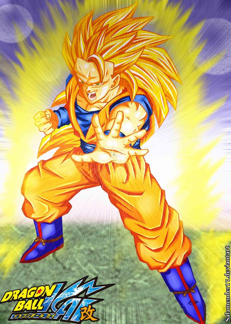 Son goku super saiyan 3 by salamender17 on deviantart - Sangoku super sayen 3 ...