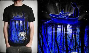 'deep blue forest' by dzeri