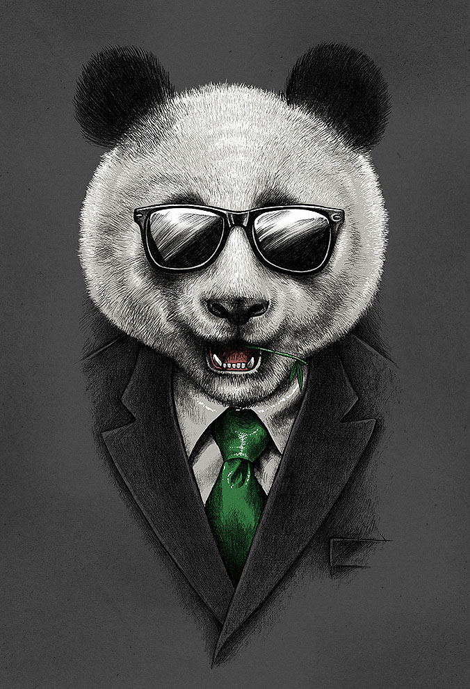 AGENT PANDA by dzeri