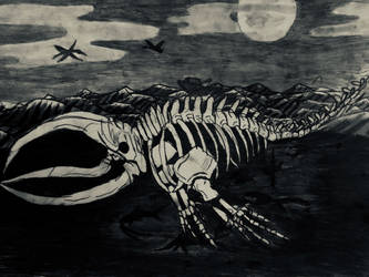 The Bake-Kujira: The Ghost Whale by Killingsquash45