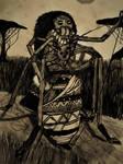 Anansi: Spinner of Stories by Killingsquash45