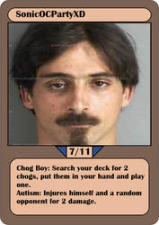 [OC Card Game] SonicOCPartyXD