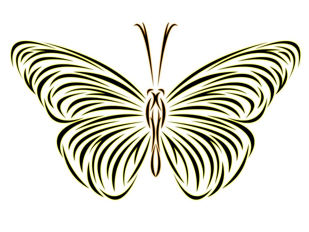 Tribal Butterfly by Nimja on DeviantArt