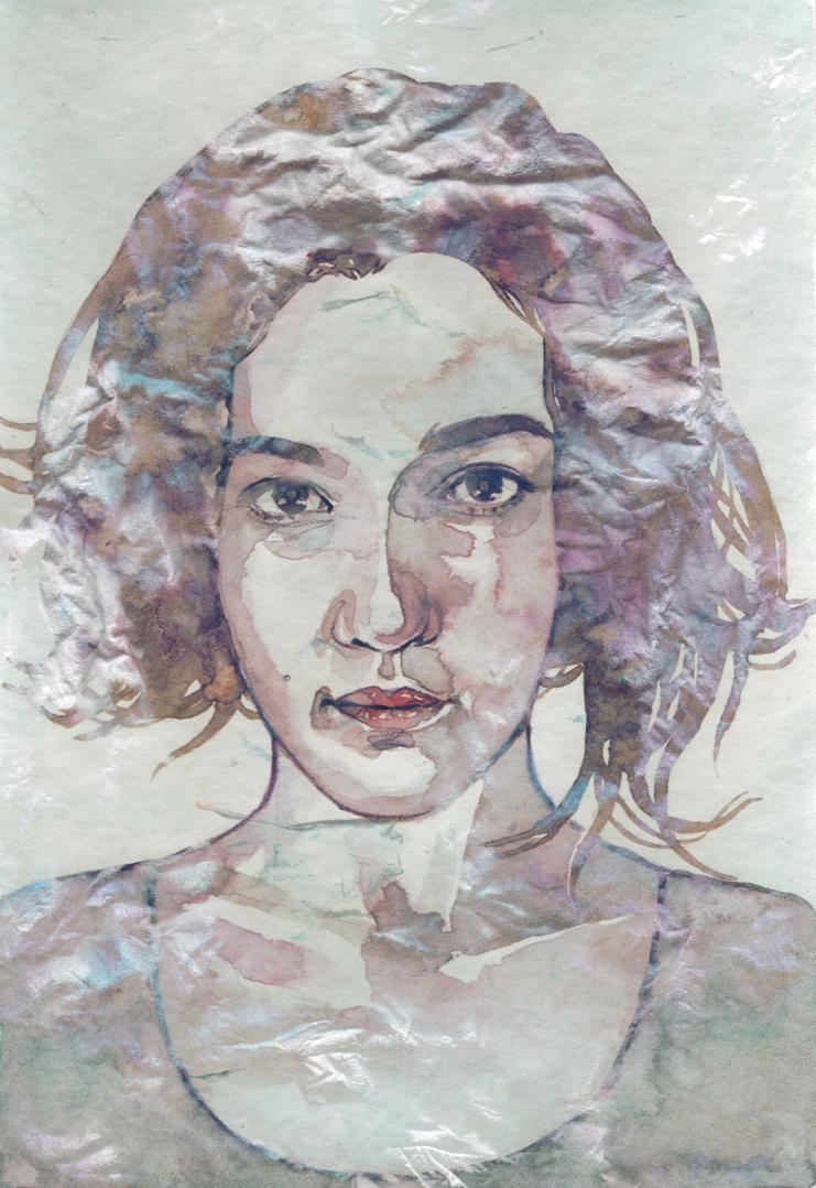 Self Portrait by geurim