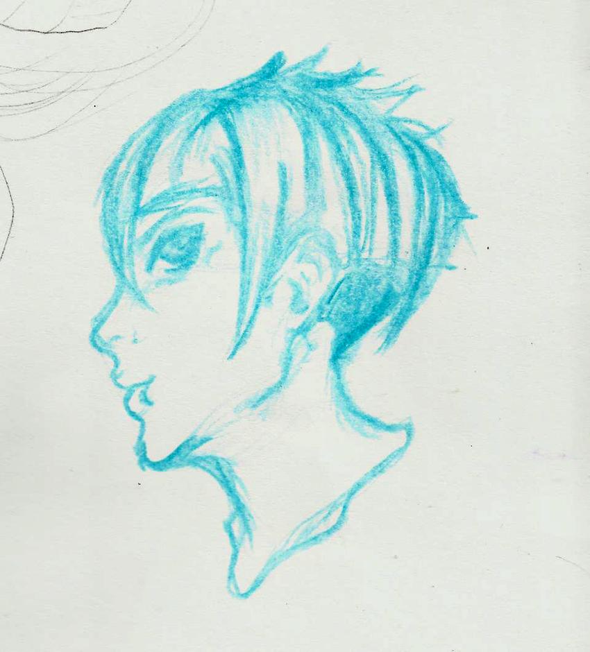 Turquoise head by teika1997