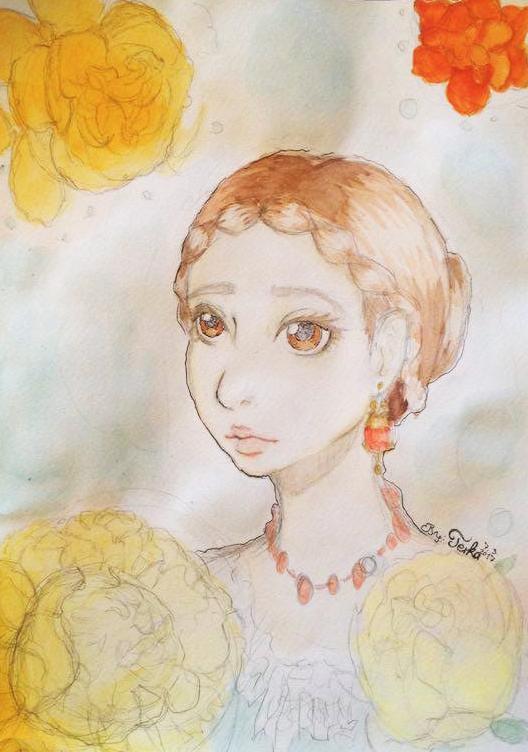 Peony Lady by teika1997