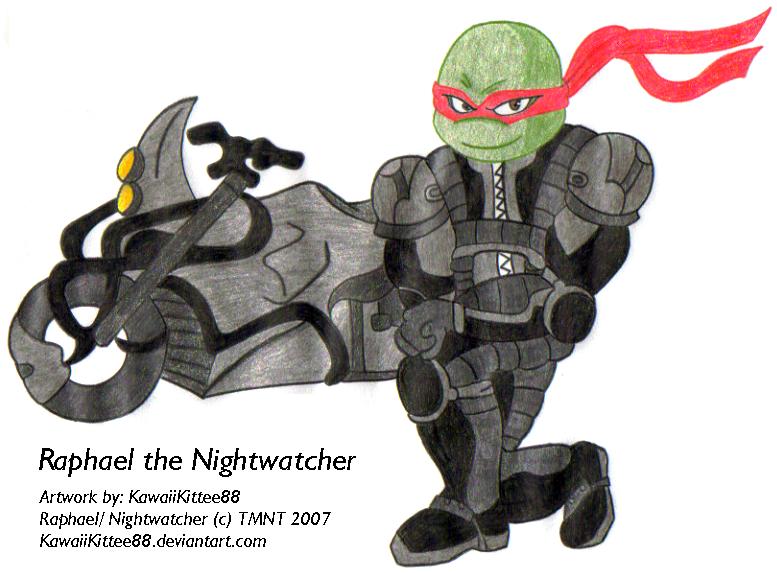 tmnt 2007 raphael nightwatcher