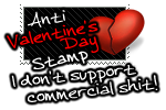 Anti Valentines Day STAMP by CJ-FALCON
