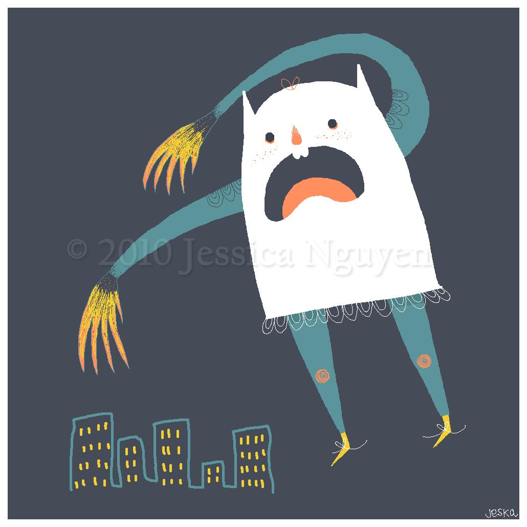A Ghostly Ghostie by liljeska