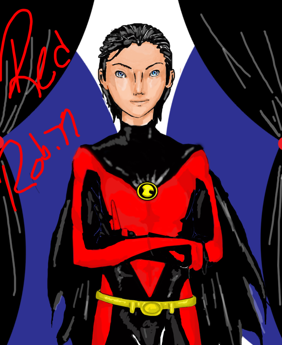 Tim Drake: Red Robin Reboot by Arctic001 on DeviantArt