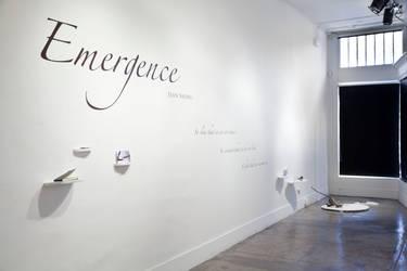 Emergence Title Wall