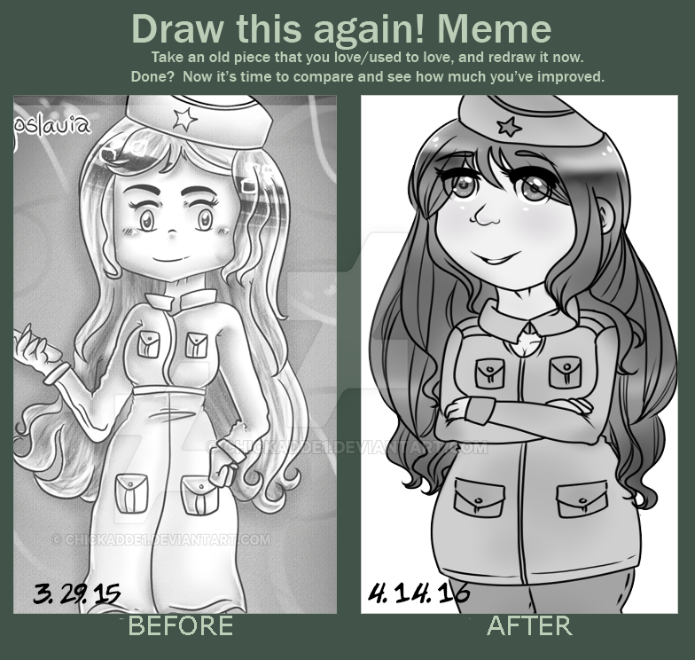 Draw this again: ''Yugi'' by Chickadde1