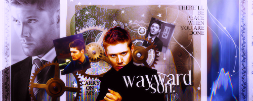Dean Winchester - Wayward Son by DarkFairy007