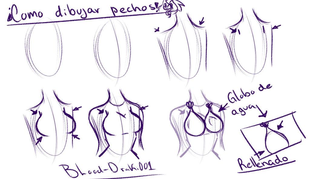 Como Dibujar Pechos Femeninos by BLood-Draki001 on DeviantArt