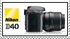 Nikon D40 Stamp by boondie182