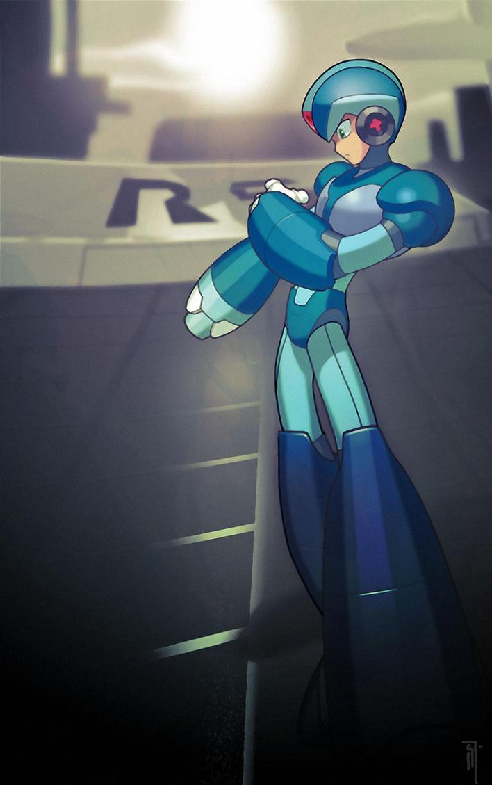 MegaMan X by Xeromander