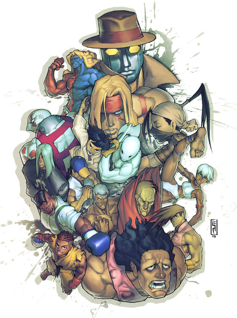 Street Fighter Tribute by Xeromander