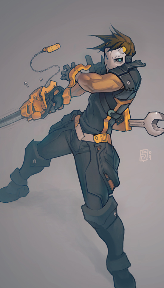 Mechanic by Xeromander