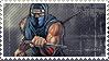Classic Ninja Gaiden Stamp by Xeromander