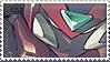 Megaman Zero Stamp by Xeromander