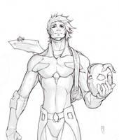 bartleby sketch by Xeromander