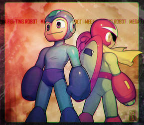 mega fighting robot