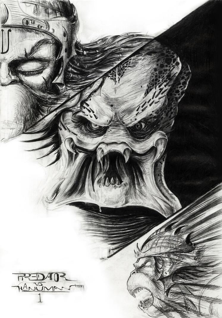 how to draw alien vs predator male models picture