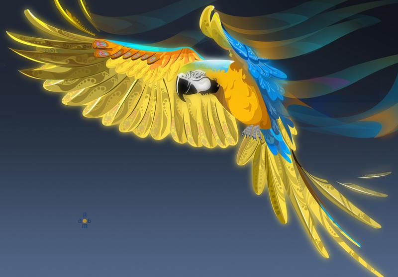 I am a bird by toonrama
