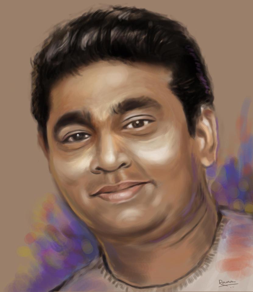 A R Rahman by toonrama