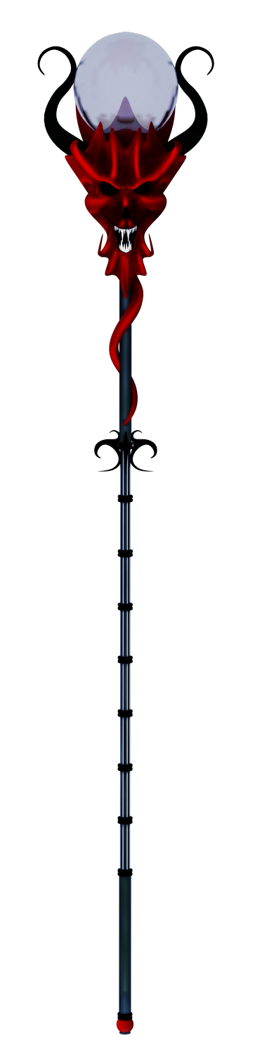 Demon Sceptre Stock by Withering-Dreams