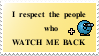 Watchers stamp by Sakonworshiper