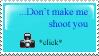 Don't make me stamp by Sakonworshiper