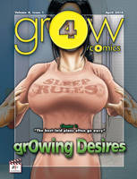 grOw comic 4: cover of issue 1 by BustArtist