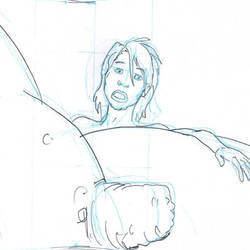 grOw/cOmic#6, pencils and background building cont by BustArtist