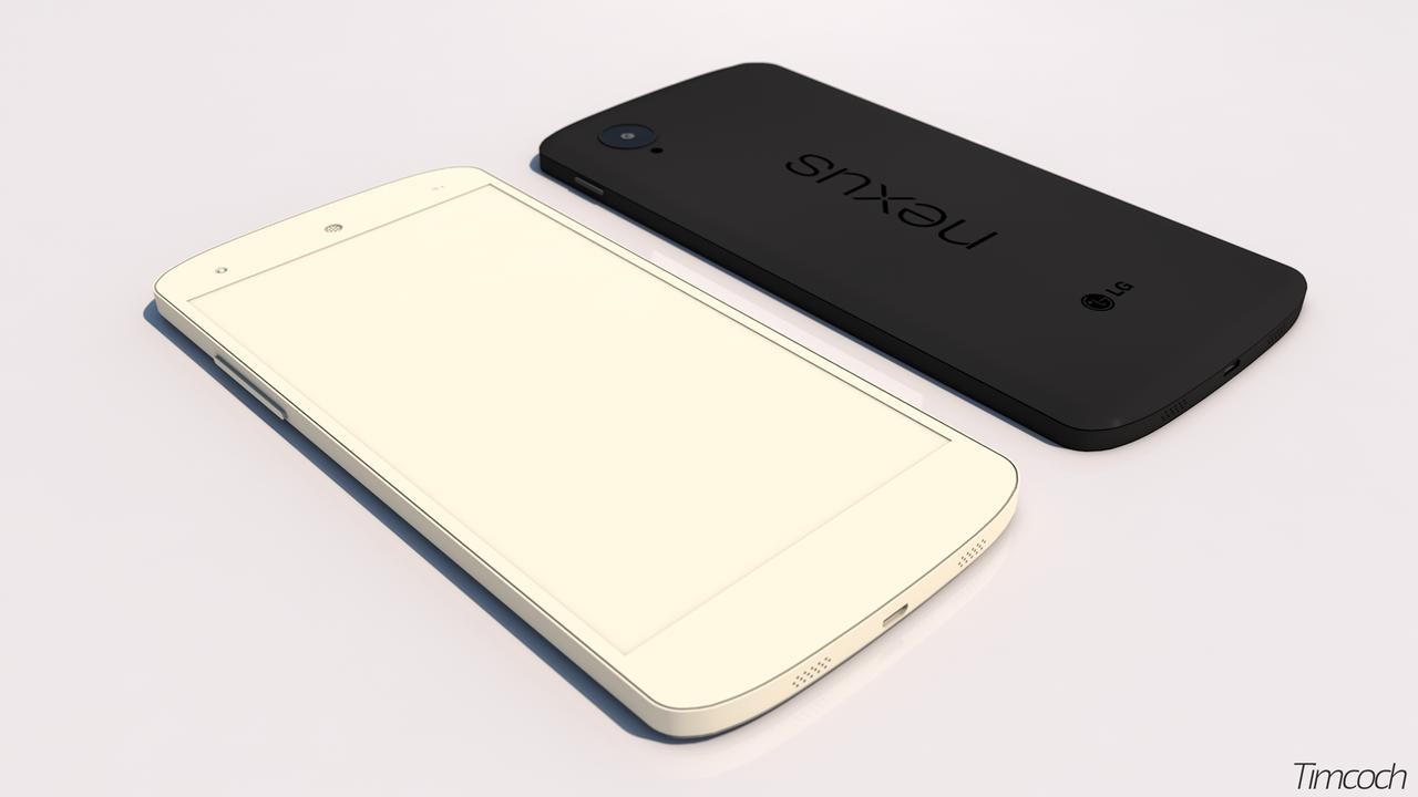 Google Nexus 5 3D model by Timcoch